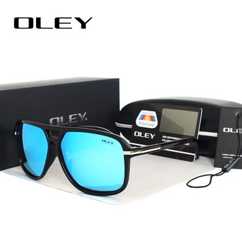 OLEY Vintage oversized Sunglasses Men brand designer women Polarized Sun Glasses for man shades large spectacles culos de sol 2
