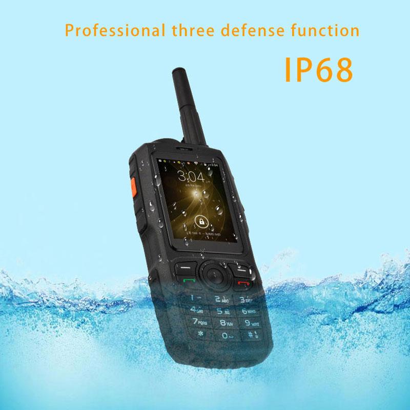 ТОЦ IP68 портативная рация UHF домофон телефон портативный Радиоприемник смартфон мобиль ...