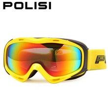 POLISI Polarized Ski Snow Snowboard Goggles Snowmobile Gafas Motocross Goggles Skiing Snowboarding Glasses Winter Sports Eyewear