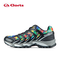 Clorts Men Trail Running Shoes Breathable Sport Shoes PU Runner Shoes Anti Slipping Outdoor Shoes 3F021A/B