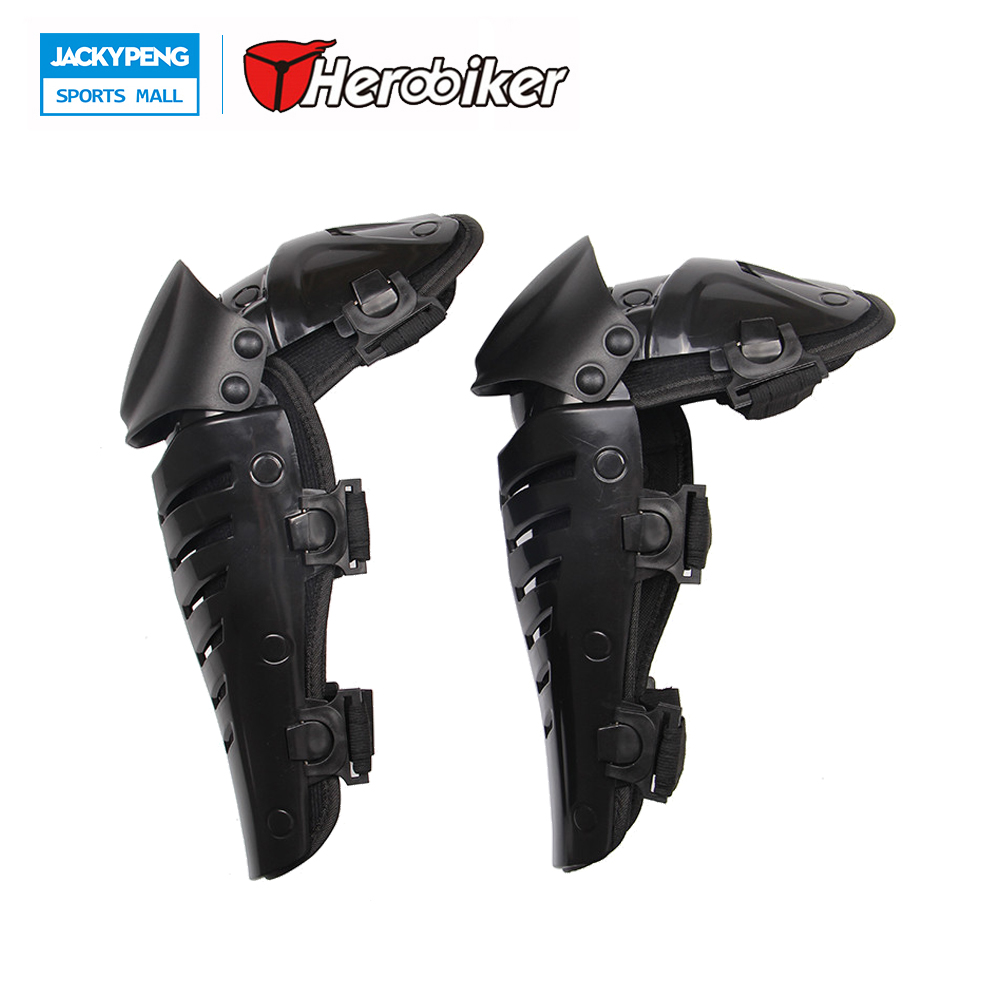 HEROBIKER Motocross Protector Knee Armor Guards Protector Pad Off-road Biker Knee Guards Protector Safety Protector Accessories thor force knee guards