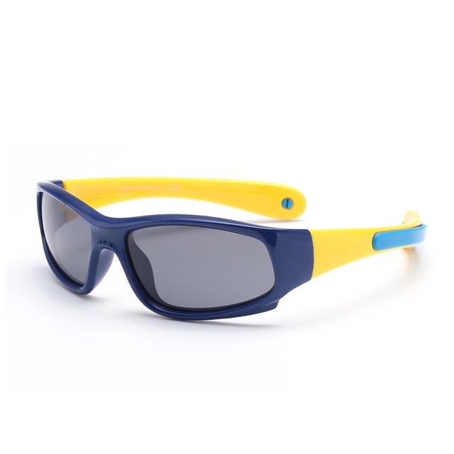 d99f7ea5b6dd6 Crianças Óculos Polarizados Óculos de Sol Para Meninos Meninas Crianças  Óculos de Segurança Moda Casual Borracha