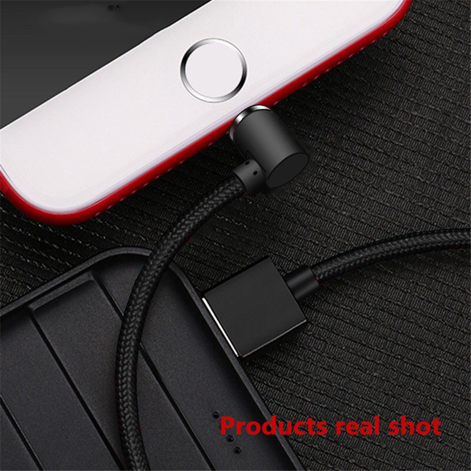 NOHON Elbow Magnetic Fast Charge Cable Lighting Micro USB Type C For iPhone X 7 8 Samsung Universal Phone Magnet Charging Cables (10)