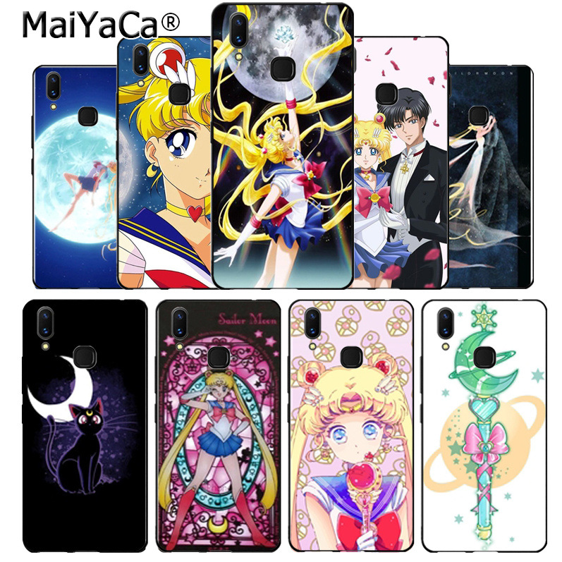 Obliging Maiyaca Pretty Guardian Sailor Moon Cartoon Cell Phone Protective Case For Vivo V9 X20 X20plus X21 X21 Ud Nex Y83 V7 Y97 Coque Phone Bags & Cases Cellphones & Telecommunications
