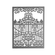 Ufurty Card Creator A2 Gate Gatefold Metal Cutting Dies Stencils for DIY Scrapbooking Album Paper Card Decor Embossing Die Cuts(China)