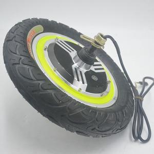 Image 4 - 24 فولت 36 فولت 48 فولت 350 واط دراجة كهربائية محرك المحرك 12 بوصة محور المحرك ل ebike سكوتر كهربائي