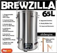 Все в одном пивоварне ROBOBREW BREWZILLA 65L GEN.3.1