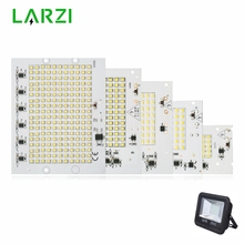 LARZI LED Lamp Chip SMD2835 Light Beads AC 220V-240V 10W 20W 30W 50W 100W DIY For Outdoor Floodlight Cold White Warm White цены