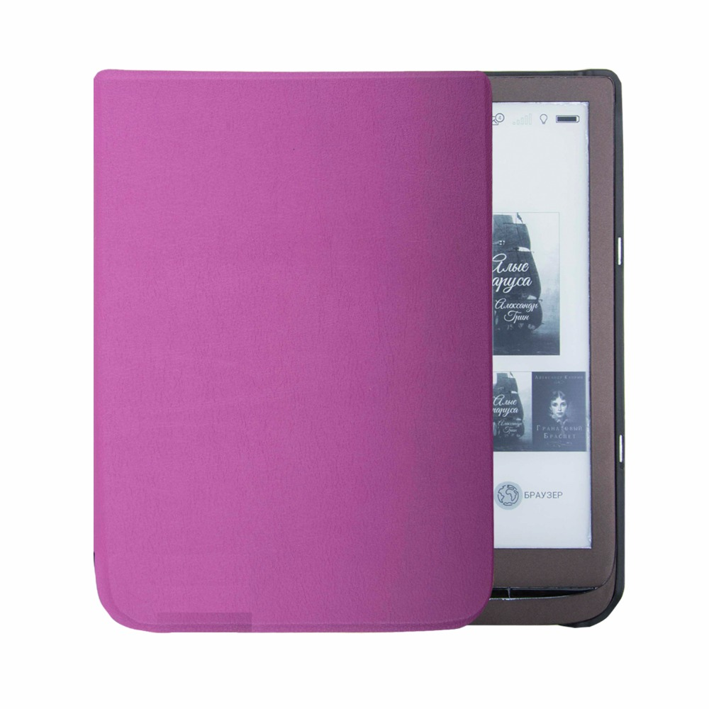 US $589 0 |Ultra slim cover case for pocketbook inkpad 3 ereader pocketbook  inkpad 740 cover case-in Tablets & e-Books Case from Computer & Office on