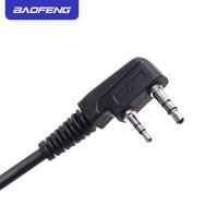 מכשיר הקשר שני Baofeng מקורי רדיו רמקול מיקרופון מיקרופון עבור שני הדרך רדיו מכשיר הקשר UV-5R UV-5RE UV-5RA UV-6R 888S Portable (4)