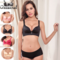 2016 Women Underwear Set Push-up Bra Lace Bralette Women's Bras Sexy Lingerie Plus Size Bra Uplift bras for Women BH Cropped Top