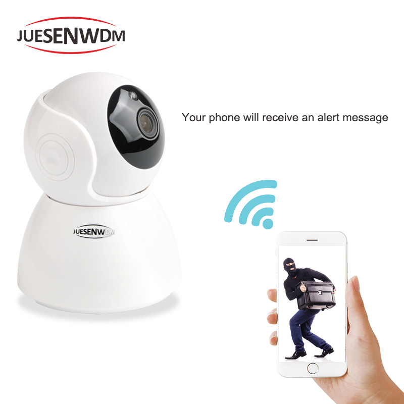 JUESENWDM 1080P Night Vision iP Camera v380 wireless ip camera Home Security CCTV Camera Baby monitor