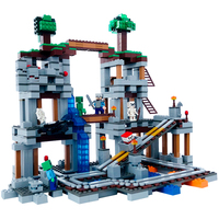 79074 The Mine 922Pcs Legoing Minecrafted Bricks My World Building Blocks Toys For Children 100% brand new