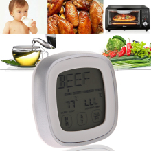 Promo offer LCD Touchscreen Barbecue Timer Food Cooking Thermometer Digital Probe Meat Temperature Sensor For BBQ Kitchen