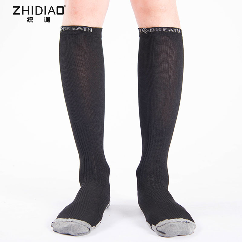 4e2c52156 Unisex Anti-Fatigue Compression Socks Man Winter Soft Compression Sock  Support Knee High Foot Stocking Black Socks For Men Gift