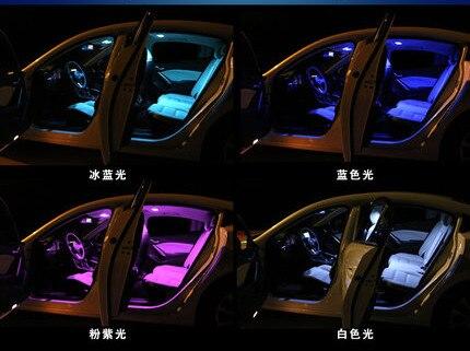 10PC Festoon 31mm 36mm 39mm 42mm LED Bulb C5W C10W 2835 SMD Canbus Error Free Auto Interior Dome Lamp Car Styling Light 12v