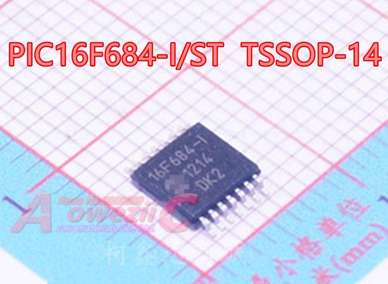 2PCS PIC16F684-I//P 16F684 DIP-14 IC MCU 8BIT 3.5KB FLASH NEW
