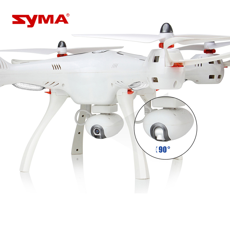 Original Syma GPS Drone X8Pro One Key Return Home Quadcopter UFO Upgraded with Adjustable Wide-Angle 720P HD WIFI Camera Toys
