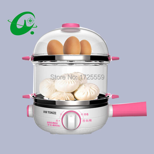 Multi-function Stainless Steel Electric Egg Cooker Boiler Steamer,14 eggs Egg Cooker Steamer, Shipping Faster cukyi household electric multi function cooker 220v stainless steel colorful stew cook steam machine 5 in 1