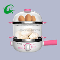 Multi-function Stainless Steel Electric Egg Cooker Boiler Steamer 14 eggs Egg Cooker Steamer  Shipping Faster