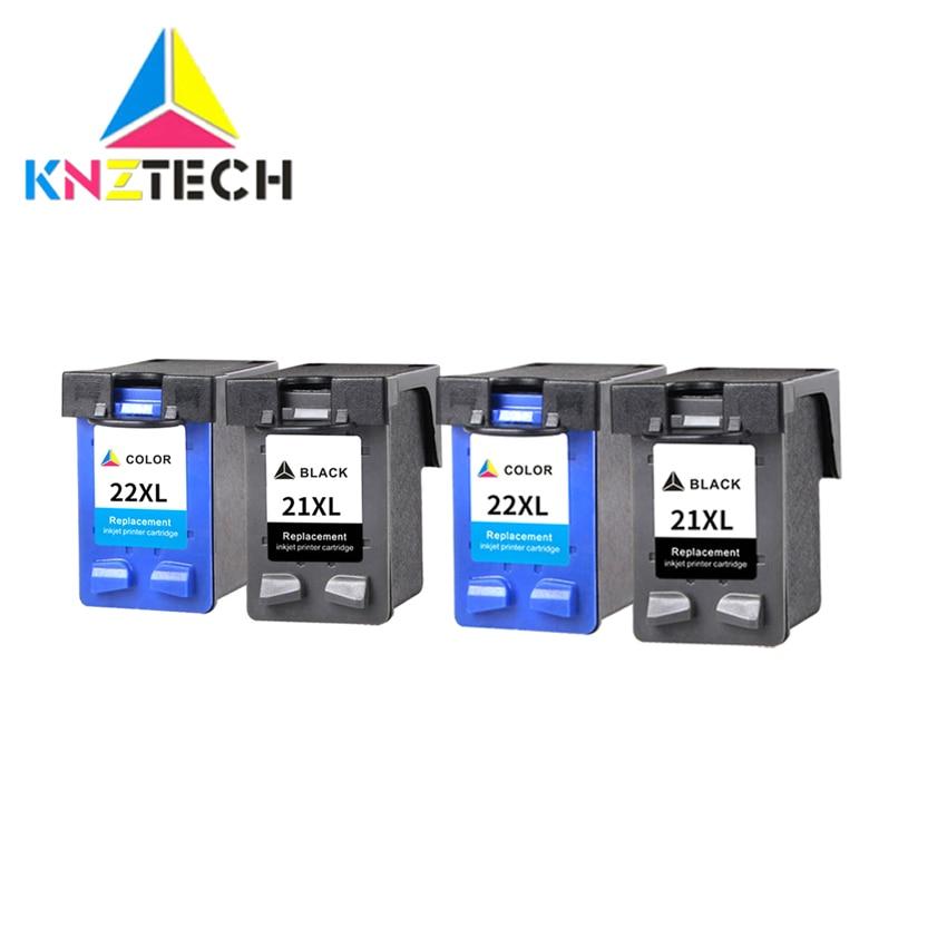 High Capacity Ink Cartridges For HP21 22 For 21XL 22XL F380 F2100 F2110 F2240 F2280 F2250 F4100 3915