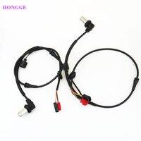 HONGGE 2Pcs Fornt ABS Wheel Speed Sensor For VW Passat B5 2001 2005 A4 A6 8D0 927 803 B 4B0 927 803 C 8D0 927 803 D