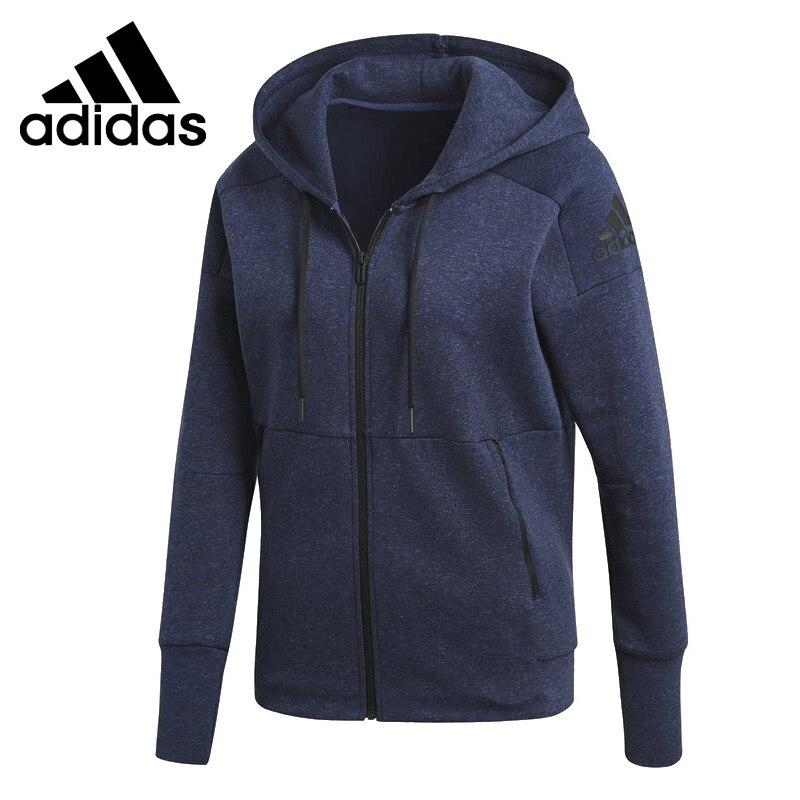 Оригинальное новое поступление 2018 Адидас W Id стадион Hd Женская куртка с капюшоном спортивная одежда