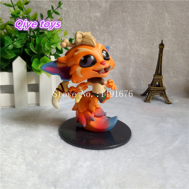 The Missing Link Gnar Action Figure 1/10 scale painted figure 022# Gnar The Missing Link Doll PVC ACGN figure Toy Brinquedos 9CM