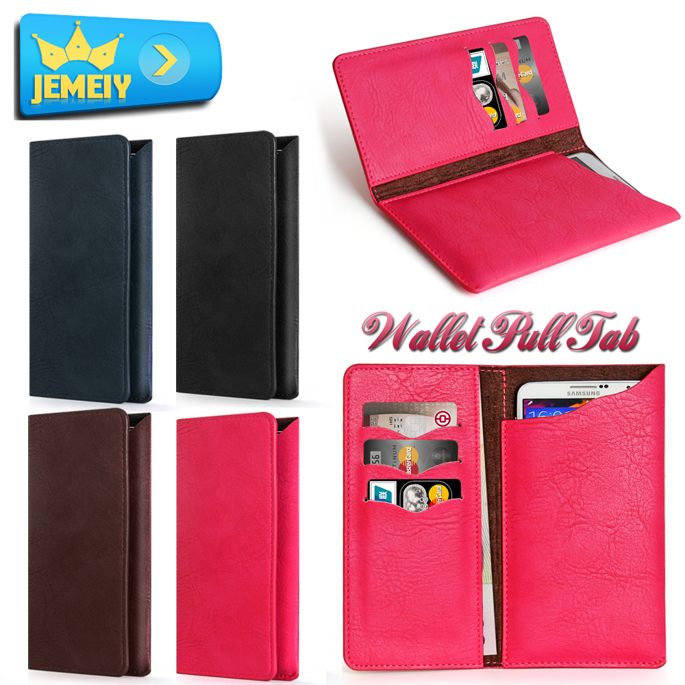 5.5 luxury Universal leather wallet case Cover For iPhone 7 Plus 6S 5s 4S For Huawei P6 Mate 9 Mate7 S8 Redmi3 Phone bag Holster
