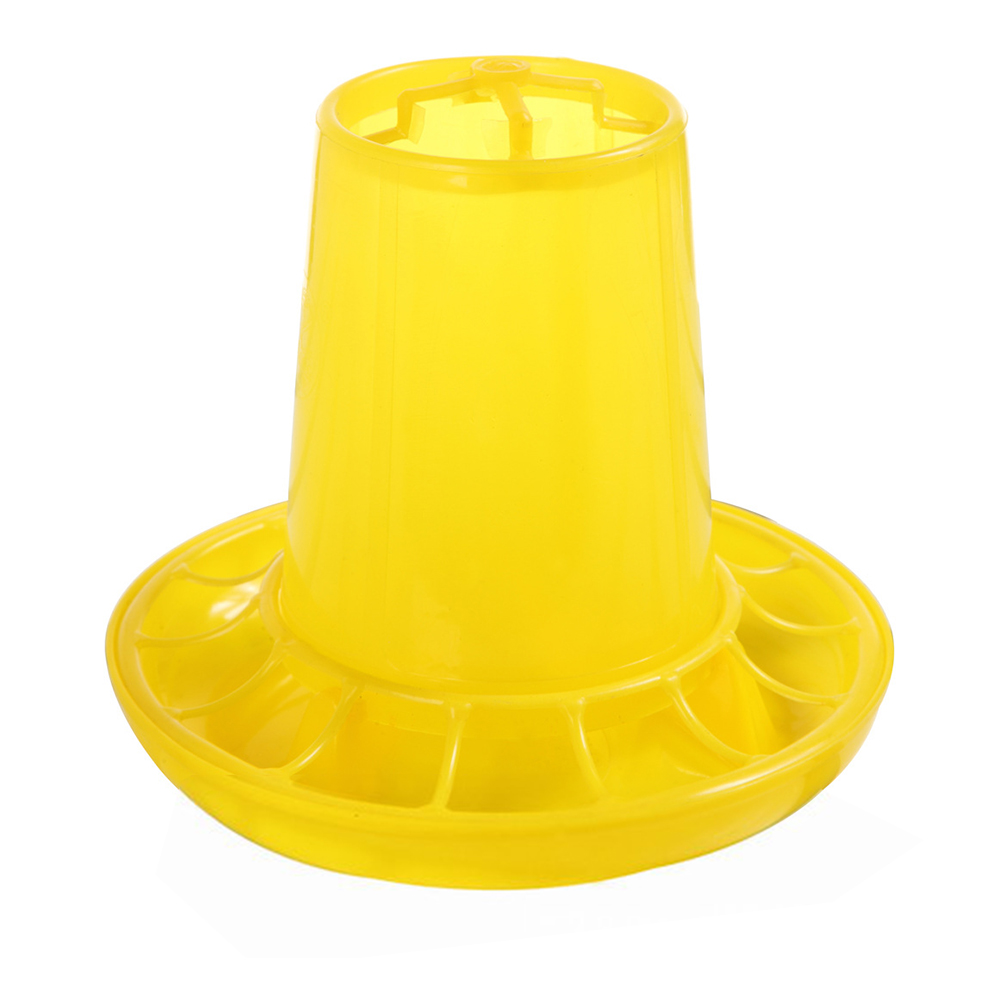 1kg Chicken Feeders Quail Feed Bucket Poultry Farming Tools Chick Feeders Bird Manger Farm Equipment