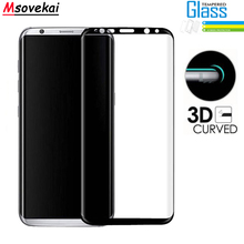 For Samsung Galaxy S8 Plus 3D Curved Full Coverage Screen Protector 9H Tempered Glass For Samsung Galaxy S9 Plus Protective Film цены онлайн