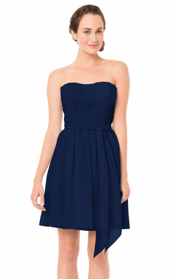 Moderno Vestidos De Dama Azul Medianoche Ideas Ornamento Elaboración ...