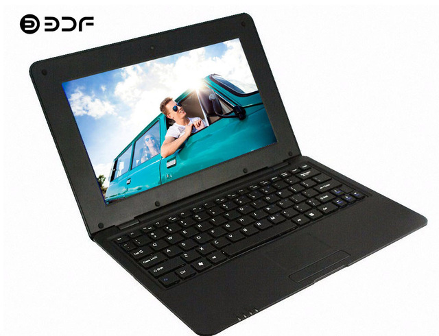 BDF Quad Core Da 10.1 Pollici Notebook Android Del Computer Portatile Del Computer Portatile Tablet Android 6.0 Allwinner Quad Core 1.5 GHZ WiFi Bluetooth Mini netbook - 5
