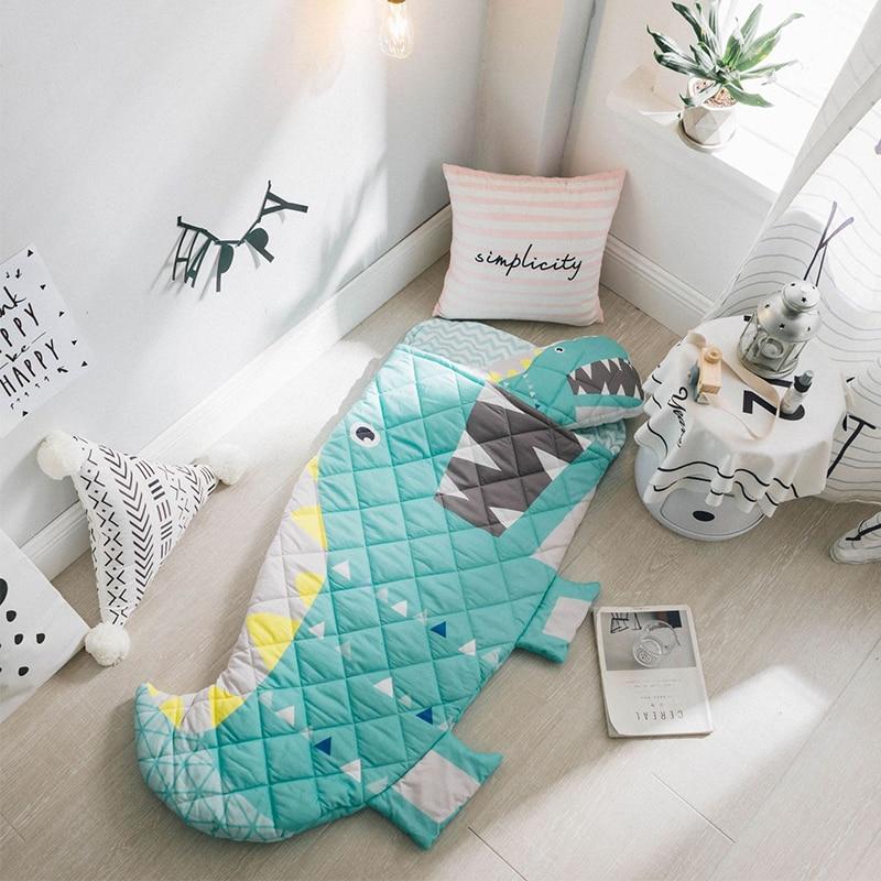 Shark Mermaid Newborn Sleeping Bag Baby Sleeping Bags Winter Sleep Animal Bedding Warm Toddler Baby Wrap Swaddle Blanket Cotton все цены