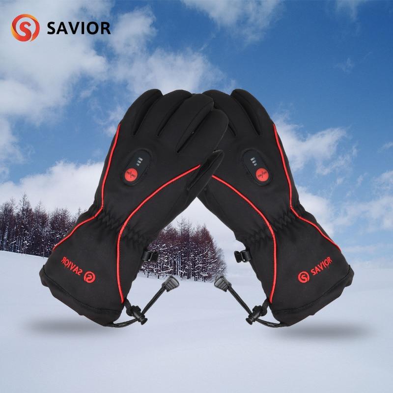 SAUVEUR professionnel ski sports de plein air gants coupe-vent imperméable vélo alpinisme gants de chauffage
