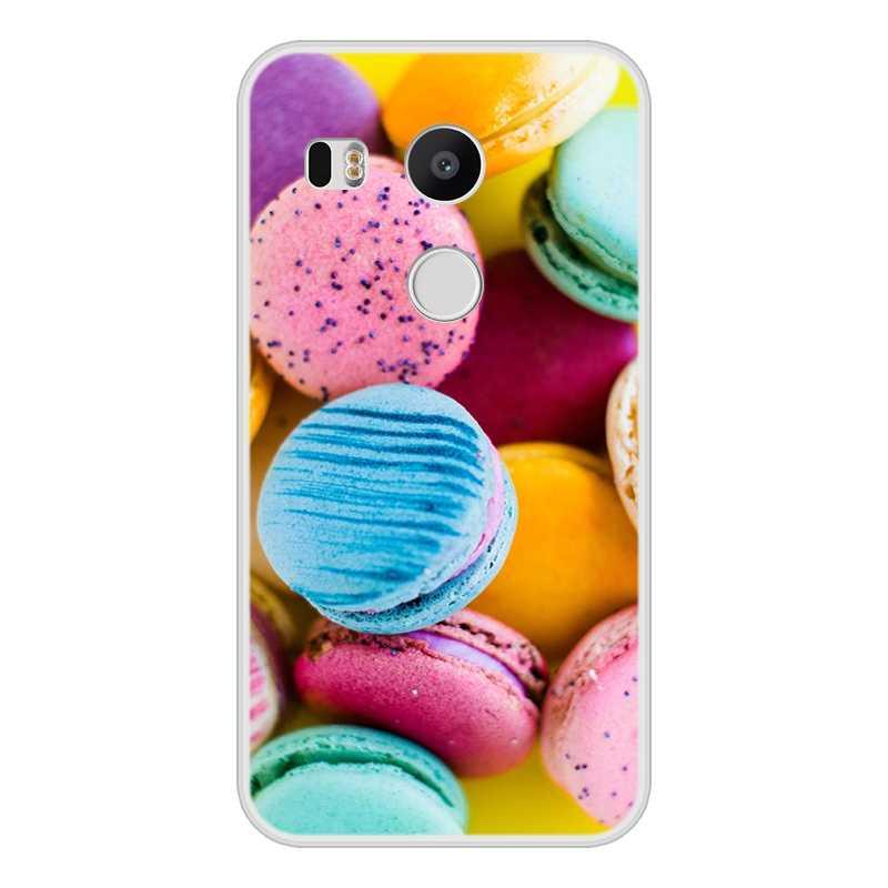 Funda para Google Nexus 5x suave silicona TPU diseño fresco estampado funda para teléfono Google Nexus 5x