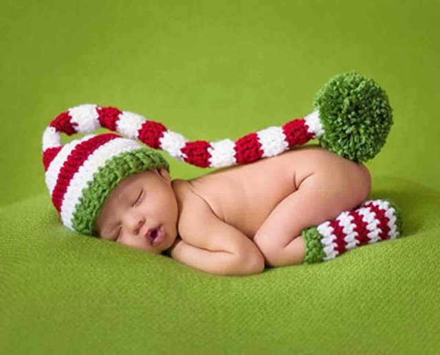 Baby Christmas Costumes Newborn Photography Props Girls Boys ...