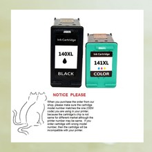 Remanufactured ink cartridge for HP140 HP141for HP Officejet All in One 5700 series(China)