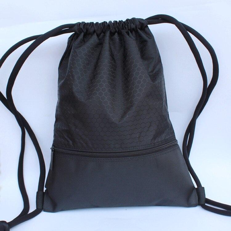 Wholesale Outdoor Travel Portable Waterproof Gym Shoes Drawstring Tote Football Drawstring Bags Basketball Bag