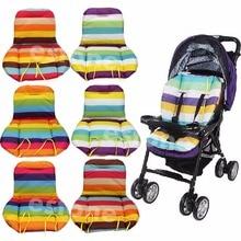Новинка, подушка для детской коляски, подкладка для коляски/Подушка для автомобильного сиденья, радужная водонепроницаемая