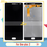 Ifire For Oneplus Two LCD Display Assembly Replacement parts For One Plus 2 lcd with Touch glass Screen Digitizer 1pcs shipping