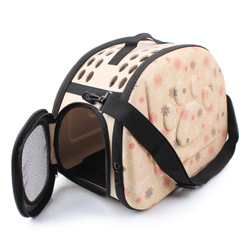 EVA Pet Carrier Dogs Cat Folding Cage Collapsible Crate Handbag Carrying Bags Pets Supplies Transport Chien Puppy Accessories