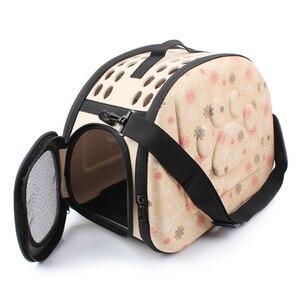 Image 5 - EVA לחיות מחמד Carrier כלבי חתול מתקפל כלוב מתקפל ארגז תיק נשיאת שקיות חיות מחמד ספקי תחבורה Chien אביזרי גור