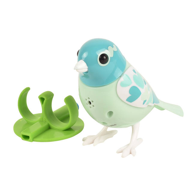 Digital Singing Birds Electronic Pets Solo or in a Choir Interactive Toys, Blow or Whistle