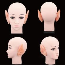 Halloween Party Latex Soft Pointed Prosthetic Tips Ear