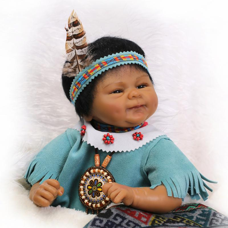 Lifelike Reborn Dolls Babies Native American Indian