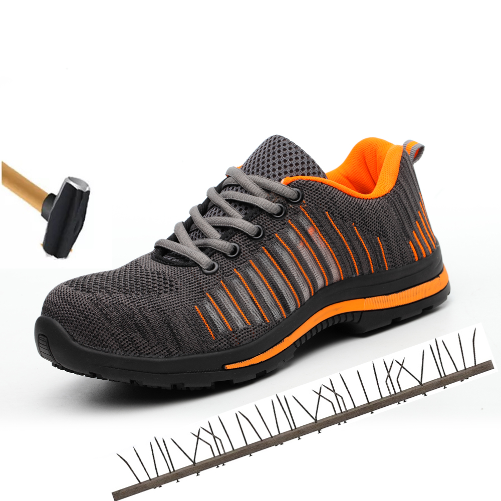 dafc8114c65 Men's Work Safety Shoes Men Outdoor Footwear Military Combat Rubber ...