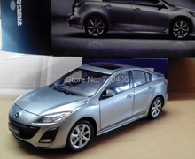 Rare! Silver 2014 1/18 New MAZDA 3 Star Gallop Sedan Diecast Model Car Mini Model Car Kits Limitied Edition