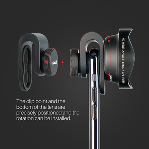 Image 5 - ULANZI 65mm Telephoto Lens for iPhone, HK 4D Super Wide angle Fishyeye Mobile Camera Lens for iPhone Samsung Huawei Sony Android