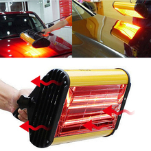 Car Body Paint Repair Painting Infrared Lamps Handheld Paint Curing Lamp Auto Automotive Bake Handhold Heating Ligting Lamp portable hand held car paint lamp infrared paint curing lamp